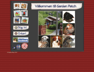 gardenpatch.se screenshot