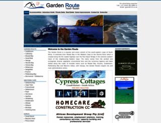 gardenroute.co.za screenshot