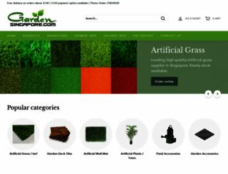 gardensingapore.com screenshot