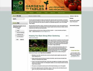 gardenstotables.com screenshot