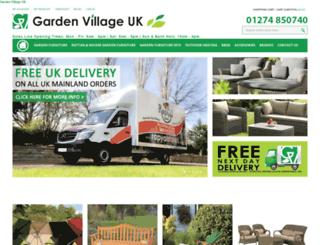 gardenvillageuk.co.uk screenshot