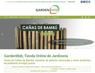 gardenweb.es screenshot