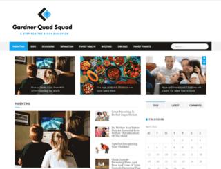 gardnerquadsquad.com screenshot
