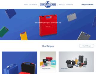 gardplasticases.com screenshot