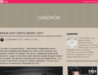 gardrob.reblog.hu screenshot