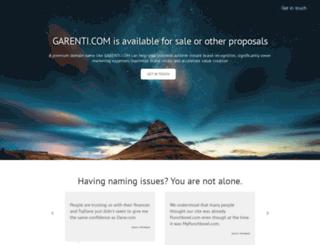 garenti.com screenshot