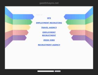 garethhayes.net screenshot