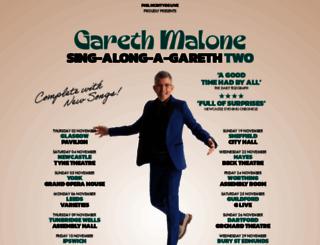 garethmalone.com screenshot
