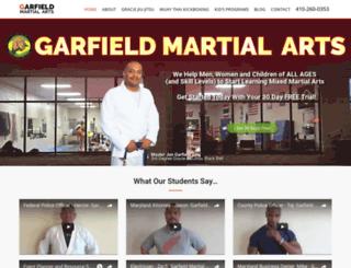 garfieldbjj.com screenshot