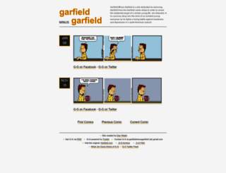 garfieldminusgarfield.net screenshot