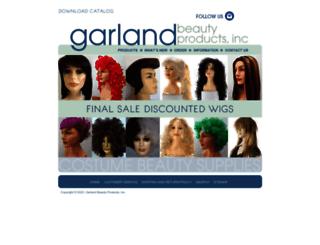 garlandbeautyproducts.com screenshot