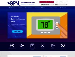 garlandpower-light.org screenshot