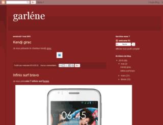 garlenegeorges.blogspot.fr screenshot