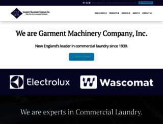 garmentmachinery.com screenshot