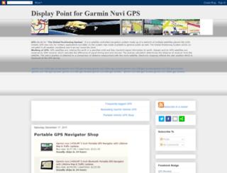 garminnuvigps-reviews.blogspot.com screenshot