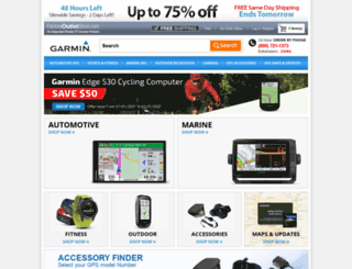 garmn.factoryoutletstore.com screenshot