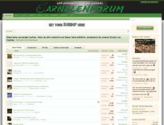 garnelenforum.de screenshot