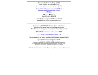 garner.ucsd.edu screenshot