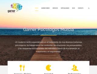 garnerpsicologos.es screenshot