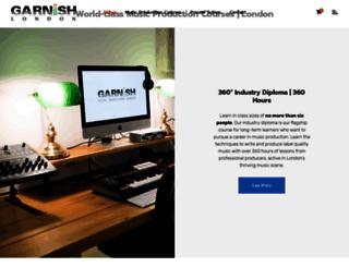 garnishmusicproduction.com screenshot
