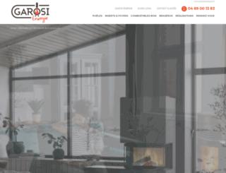 garosi-energie.com screenshot