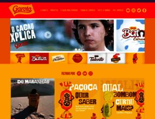 garoto.com.br screenshot