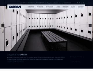 garran-lockers.co.uk screenshot