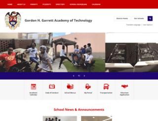 garrett.ccsdschools.com screenshot