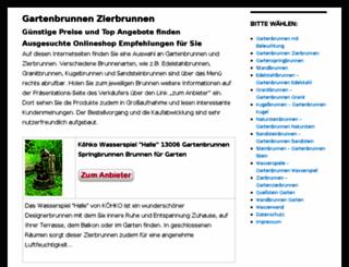 gartenbrunnen-zierbrunnen.de screenshot