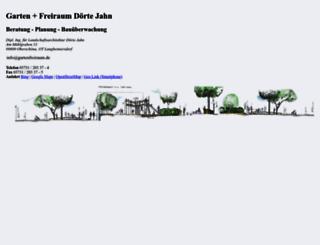 gartenfreiraum.de screenshot