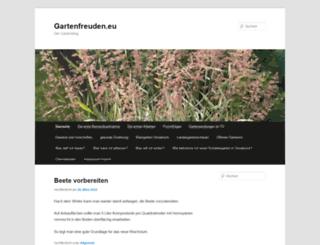 gartenfreuden.eu screenshot