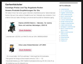 gartenhaecksler.eu screenshot