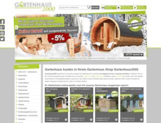 gartenhaus2000.de screenshot
