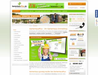 gartenhausplus.de screenshot