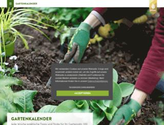 gartenkalender-online.de screenshot