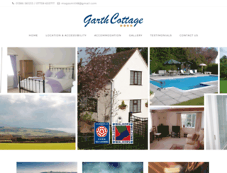garthcottage.co.uk screenshot