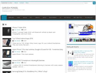 garudaponsel.com screenshot