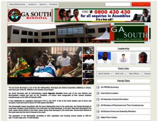 garutempane.ghanadistricts.gov.gh screenshot