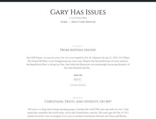 garyhasissues.com screenshot