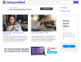 garyjohnson2016.com screenshot