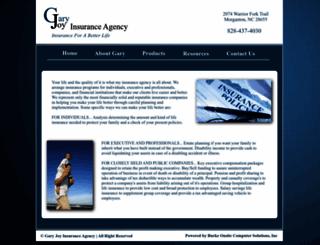 garyjoyinsurance.com screenshot