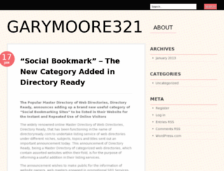 garymoore321.wordpress.com screenshot