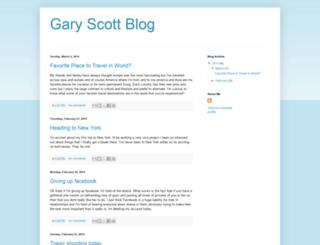 garyscottblog.blogspot.com screenshot