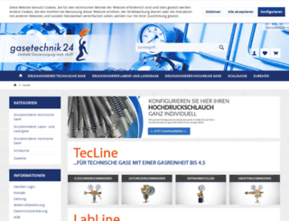 gasetechnik24.de screenshot