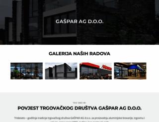 gaspar-ag.hr screenshot