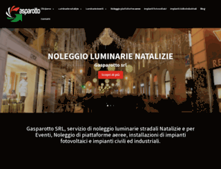 gasparotto.com screenshot