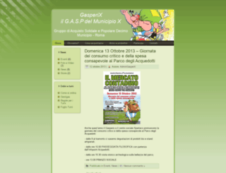 gasperix.org screenshot