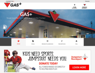 gasplus.canadiantire.ca screenshot