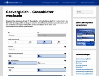 gaspreisvergleich-online.com screenshot