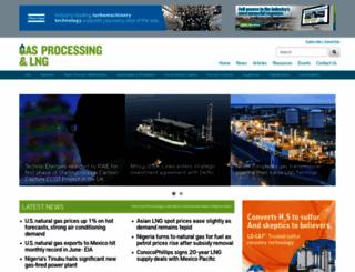 gasprocessingnews.com screenshot